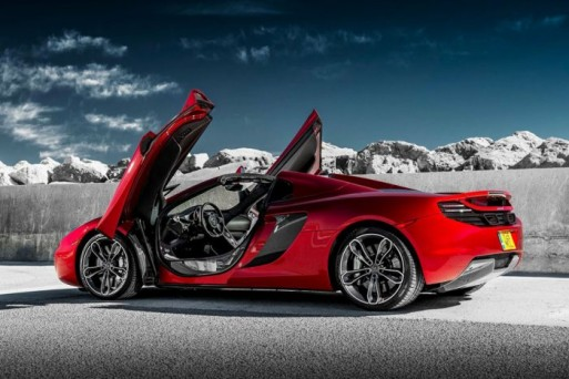 McLaren MP4-12C Spider ảnh 2
