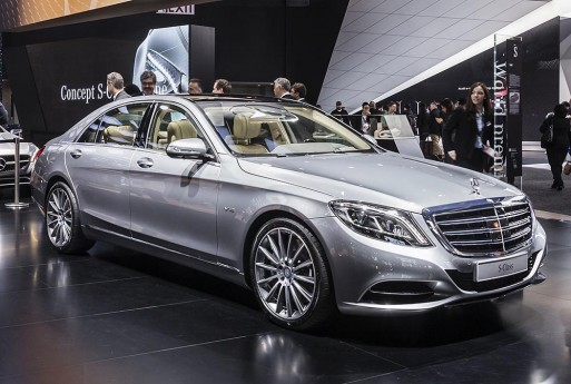 "Mercedes-Benz S-Class tranh giải ""Car of the Year 2014"" ảnh 1"