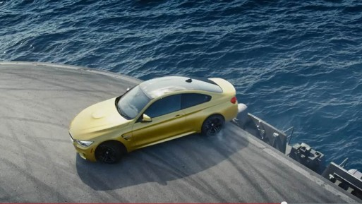 drift-bmw-m4-on-aircraft-carrier-canada