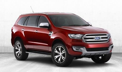 Ford Everest 2015 concept xuất hiện ảnh 1