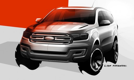 Ford Everest 2015 concept xuất hiện ảnh 4